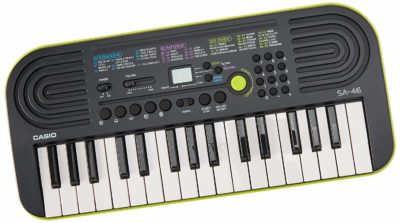This is an image of a portable piano keyboard for kids.