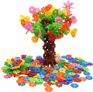500 Pieces Interlocking Plastic Disc Set