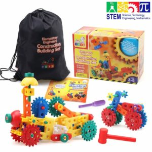 62 PCs Gear and Building Block Set