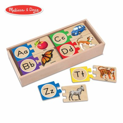 This is an image of an educational alphabet puzzle for kids.