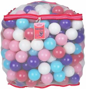 Click N' Play Value Pack of 200 Crush Proof Plastic Play Balls