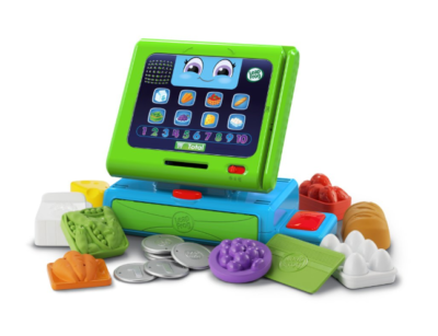 This is an image of a green count along register for toddlers.