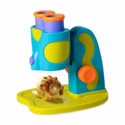 This is an image of a GeoSafari Jr. Microscope for kids.