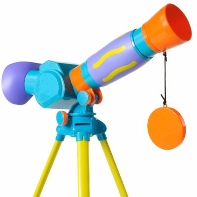 This is an image of a GeoSafari Jr. telescope for kids.