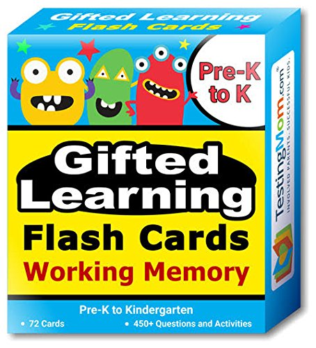 This is an image of a focus and memory flash cards for kids.