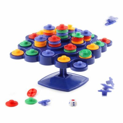 This is an image of a interactive desktop board game for kids.