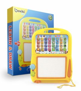 Magnetic Drawing Pad by Boxiki Kids