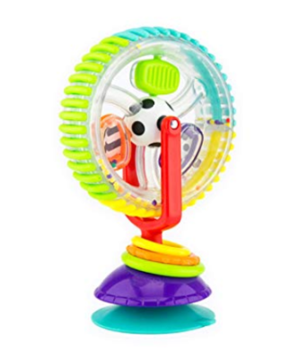 This is an image of a Wonder Wheel by Sassy designed for kids.