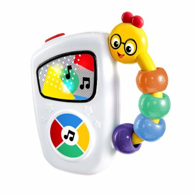 This is an image of a Take Along Tunes Musical Toy by Baby Einstein designed for babies.