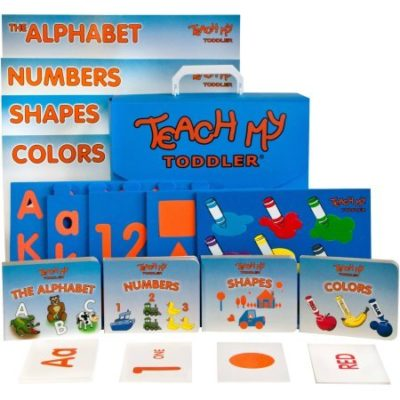 This is an image of a learning kit for toddlers.