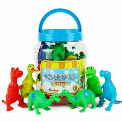 This is an image of a toy dinosaur figures for kids.