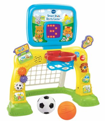 This is an image of a smart shots sports center for toddlers.