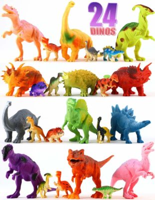 This is an image of a dinosaur figures for kids.