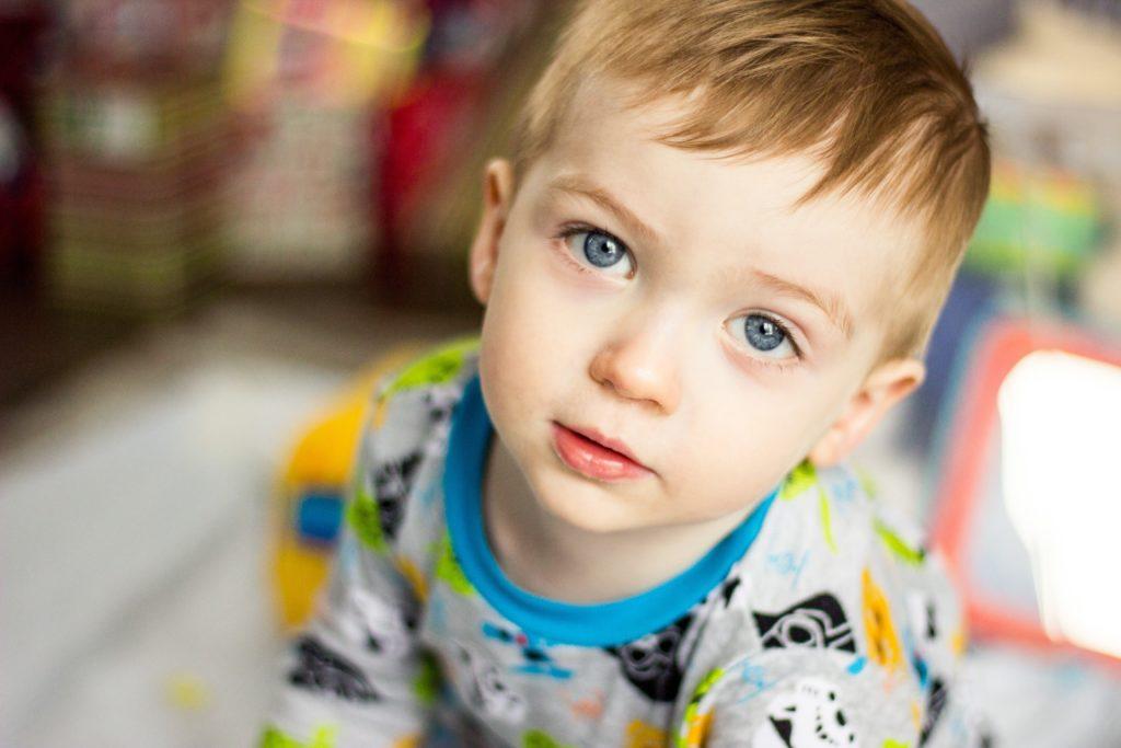 handsome toddler