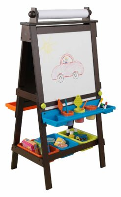 This is an image of a storage easel by KidKraft.