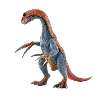 This is an image of a Therizinosaurus dinosaur toy figure by Schleich.