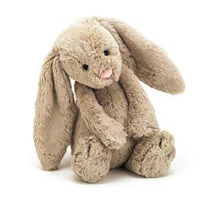 Beige Bunny Stuffed Animal