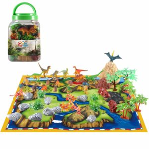 50 Piece Dinosaur Playset