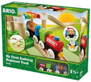 My First Railway Beginner Pack Wooden Toy Train Set