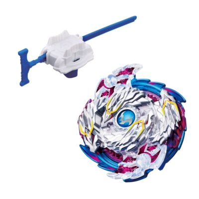 This is an image of a Nightmare Longinus beyblade set.
