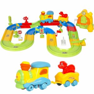 Kids Toy Deluxe Electric Train Set
