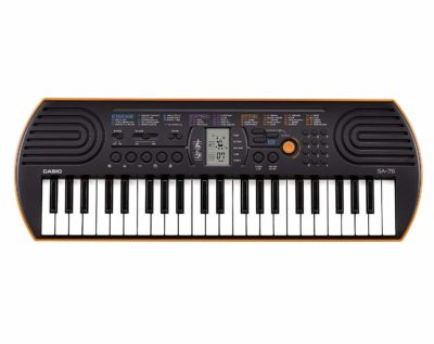 This is an image of a 44 key mini piano keyboard for kids.