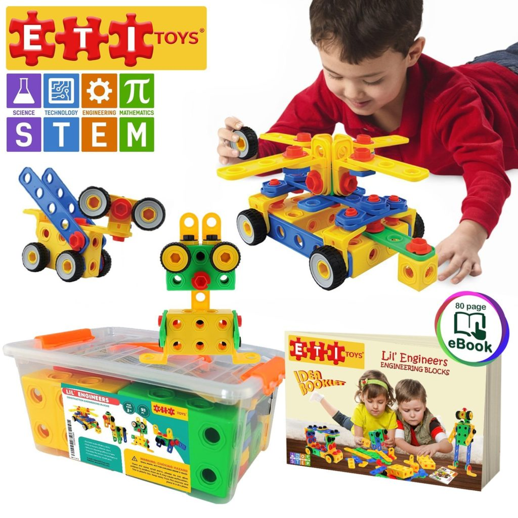 Construction Engineering Building Blocks Set