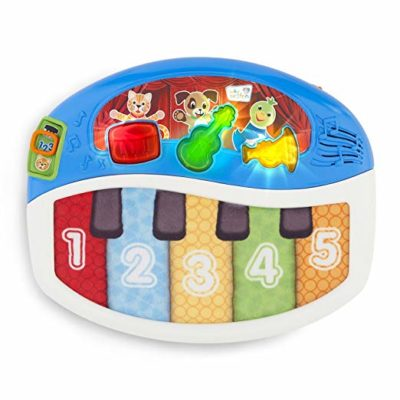 This is an image of a discover and play musical toy for babies,