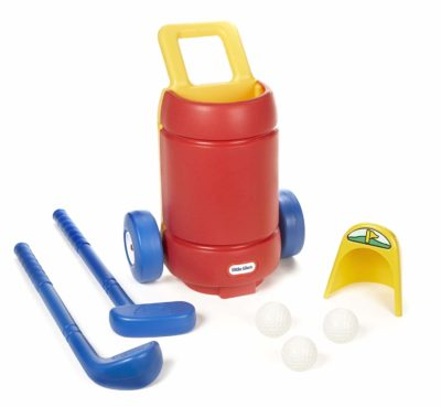 This is an image of an easy hit golf set for kids.