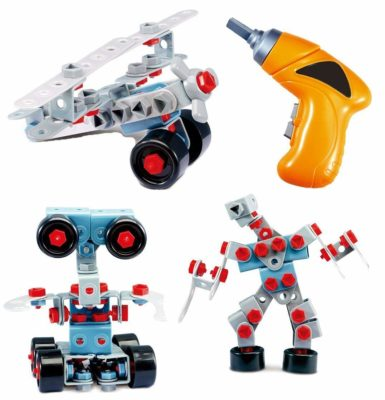 This is an image of a mega robotic building kit for kids.