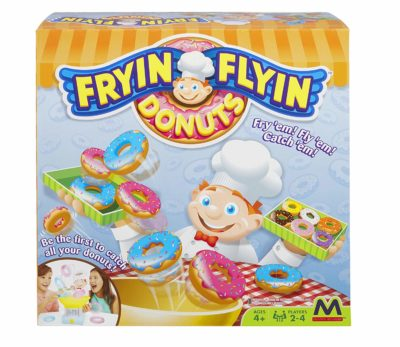 This is an image of a Frying Flying Donut strategy game for kids.