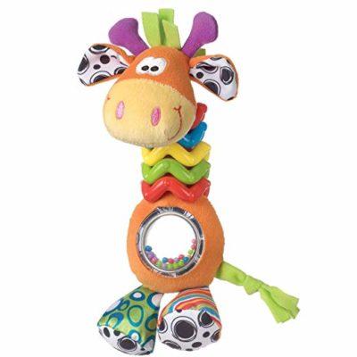 Baby Infant Crib Toys Frame Mirror Developmental Toy W