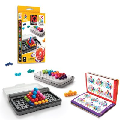 This is an image of a portable IQ puzzle game for kids.