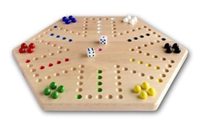 This is an image of a Maple hardwood game board for kids.