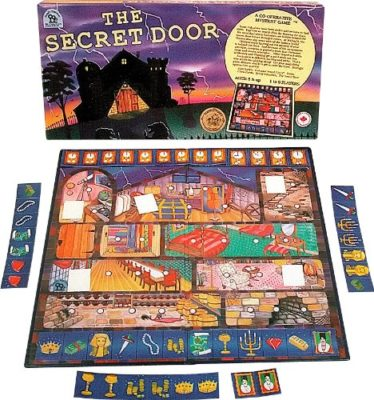 This is an image of The Secret Door mystery board game.