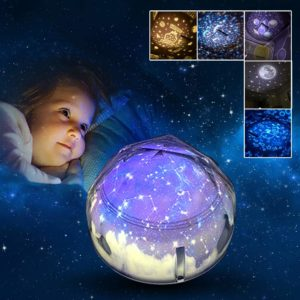 Night Light Projector Rotating Star Lights