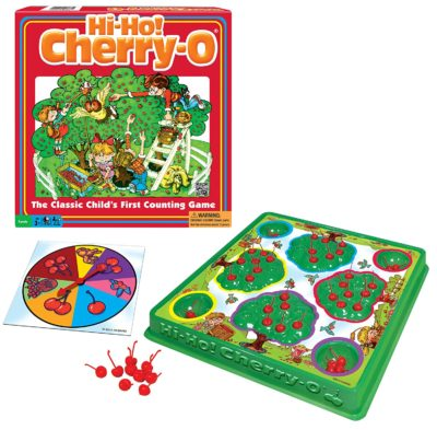This is an image of a Hi Ho! Cherry board game for kids.