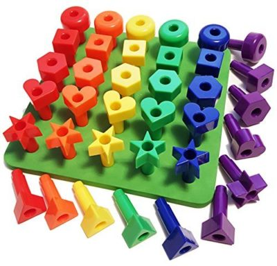 This is an image of a kid's Peg toys.