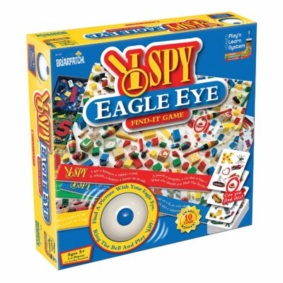 This is an image of an  eagle eye spy game for kids.