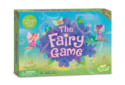 The Fairy Game matching game set for kids.