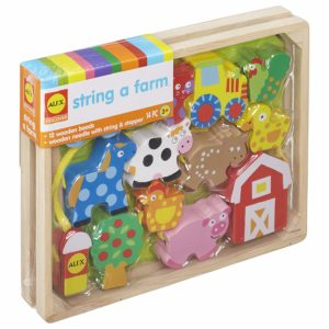 Toys Little Hands String A Farm