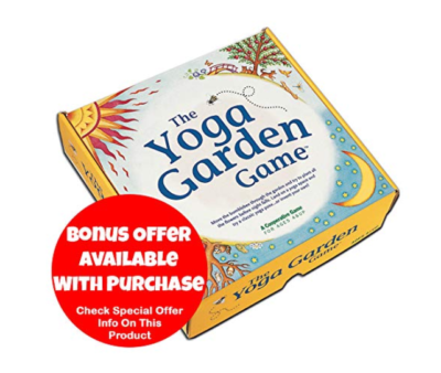 This is an image of a Yoga game designed for kids.