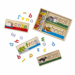 Birthday Gift Ideas 1 Melissa Dough See Spell Wooden Educational Board Toy