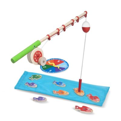 This is an image of a catching fish game for kids.