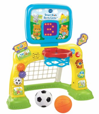 This is an image of sports center playset for kids.