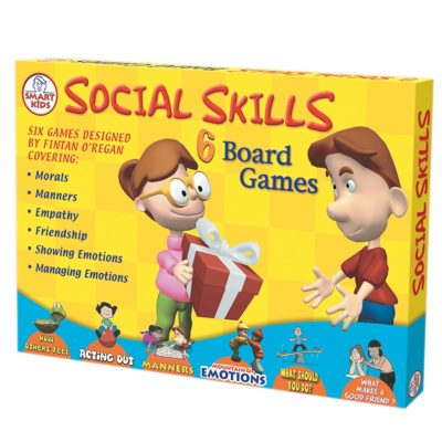 This is an image of a 6 pack social skills board games by Didax.