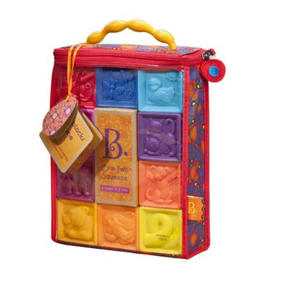 This is an image of a soft blocks for toddlers.