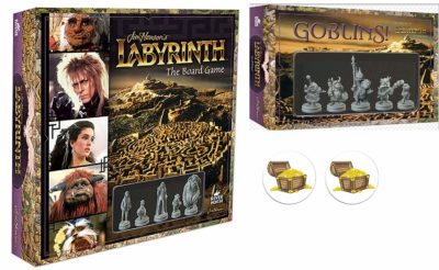 This is an image of a Labyrinth board game with goblins expansion.