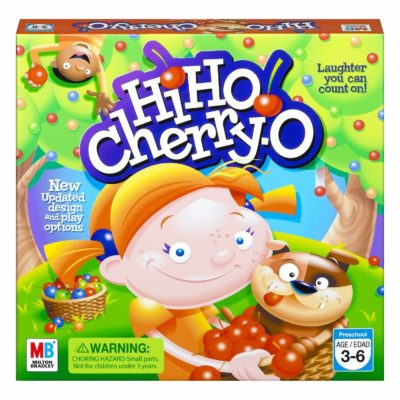 This is an image of a Hi Ho! Cherry-O game by Hasbro designed for kids.