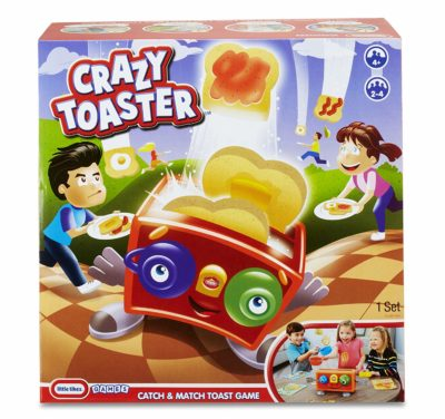 This is an image of a toasted bread board game for kids.